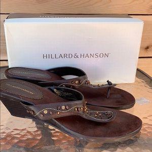 Hilliard & Hansen Beaded Sandals ✨